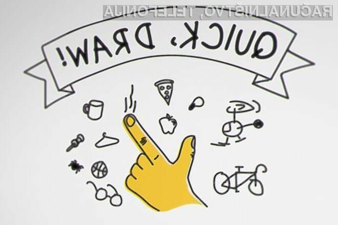 Spletne igra Google Quick, Draw! je pravi boj med človekom in umetno inteligenco!