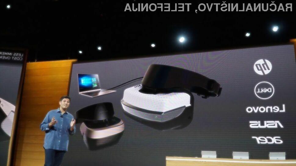 Za uporabo navidezne resničnosti v navezi z novimi Windowsi 10 bo zadoščal čisto povprečen računalnik.