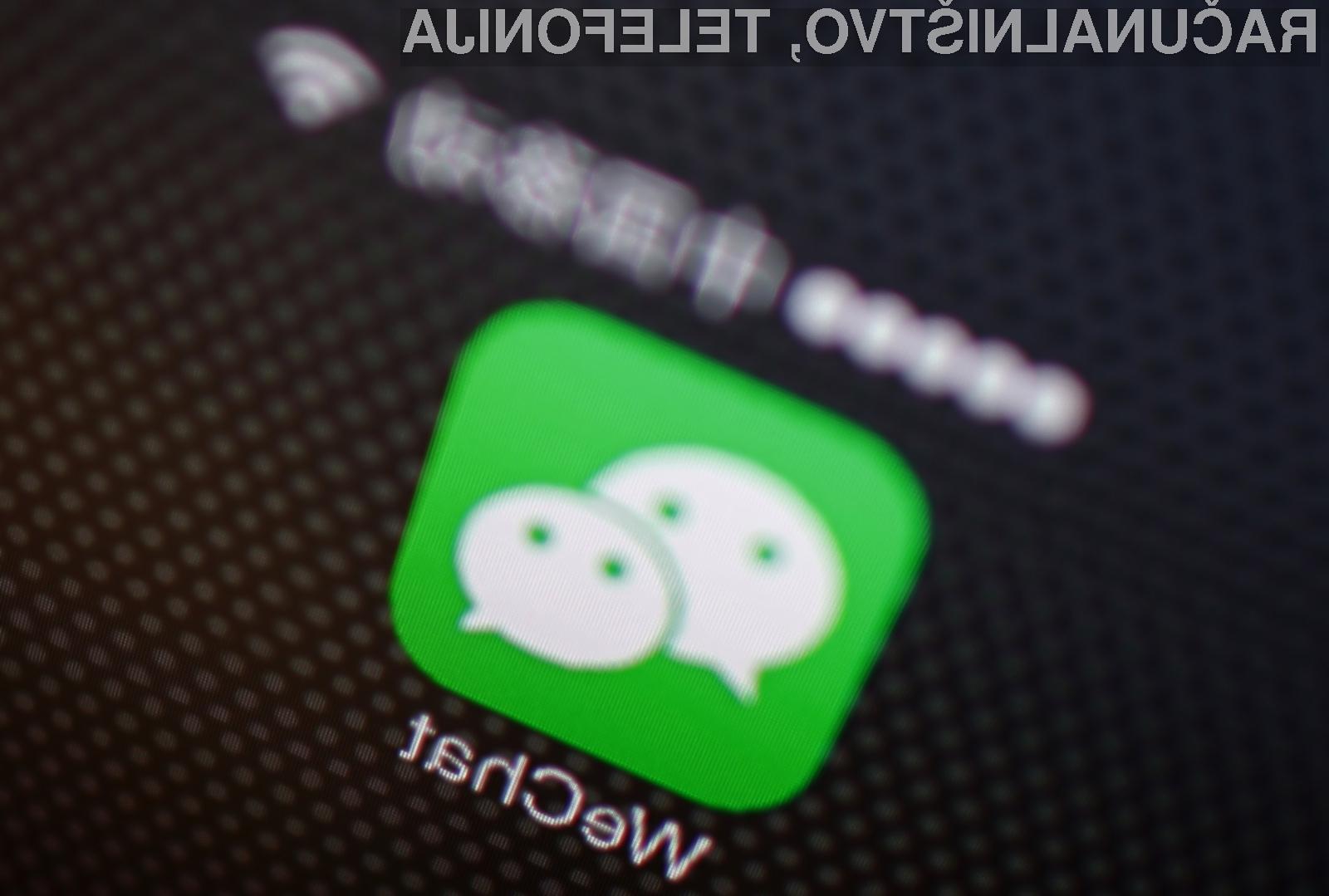 Kitajski WeChat postaja iz dneva boljši in uporabnejši!