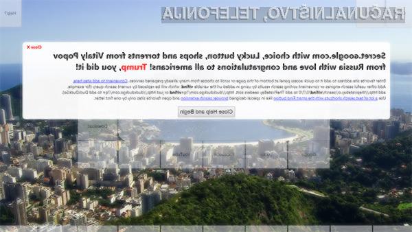 Lažna spletna stran ɢoogle.com vsaj zaenkrat še ni bila uporabljana v zlonamerne namene.