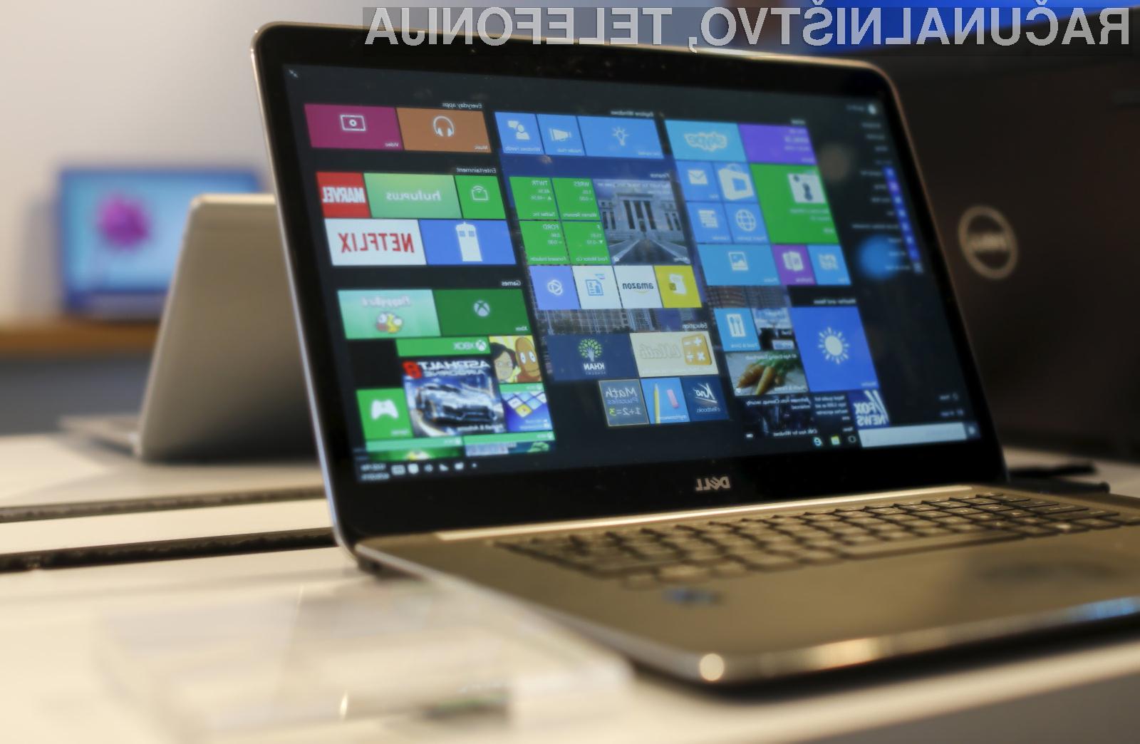 Čem prej posodobite vaš operacijski sistem Windows!