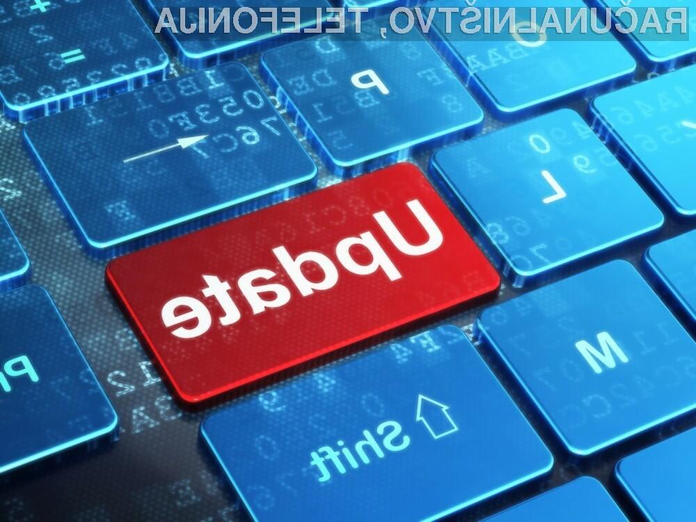 Posodobitev za Windows bo na voljo drugi torek v mesecu novembru!