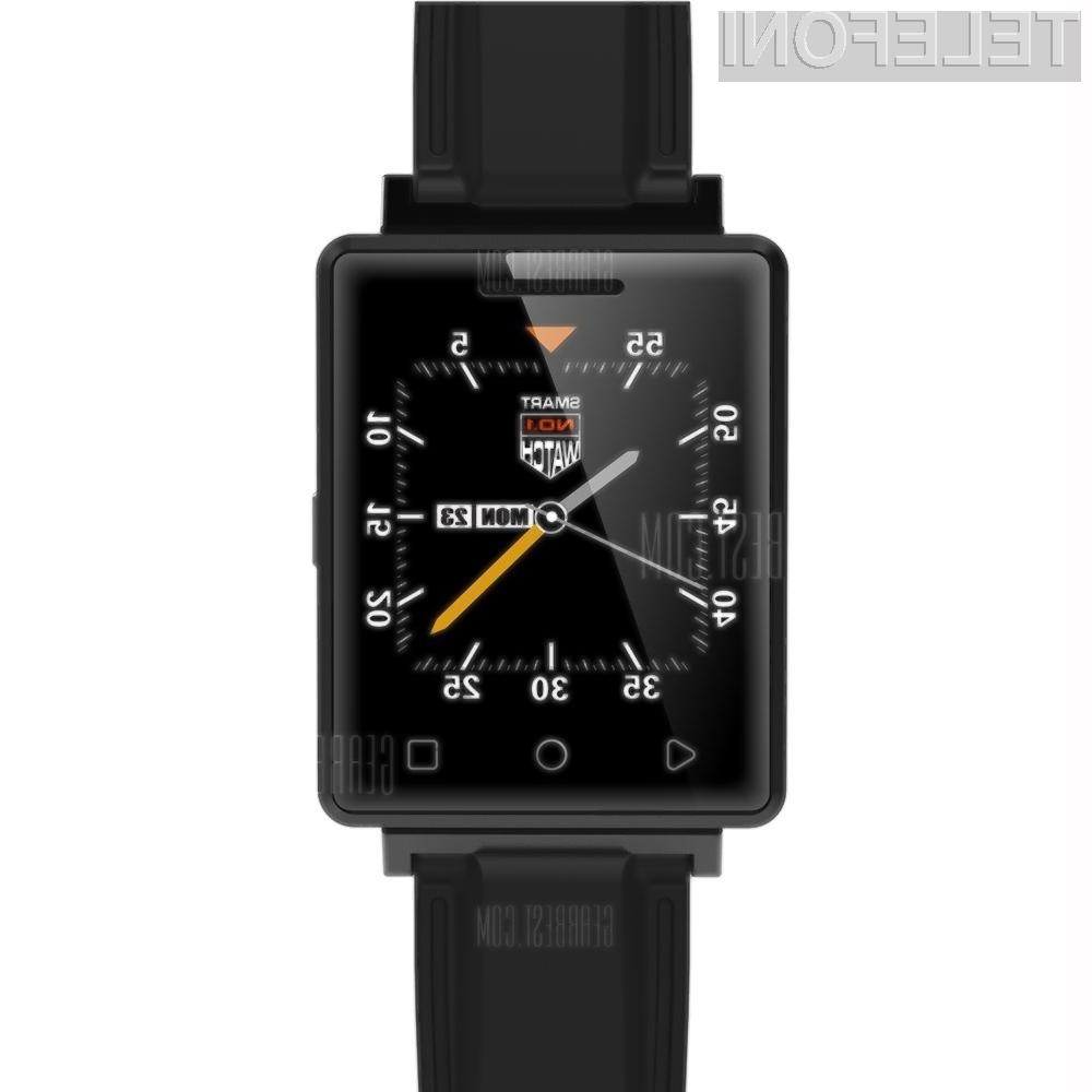 Pametna ročna ura z mobilnim telefonom G7 podjetja NO.1 je uporabna, kompaktna in predvsem poceni!