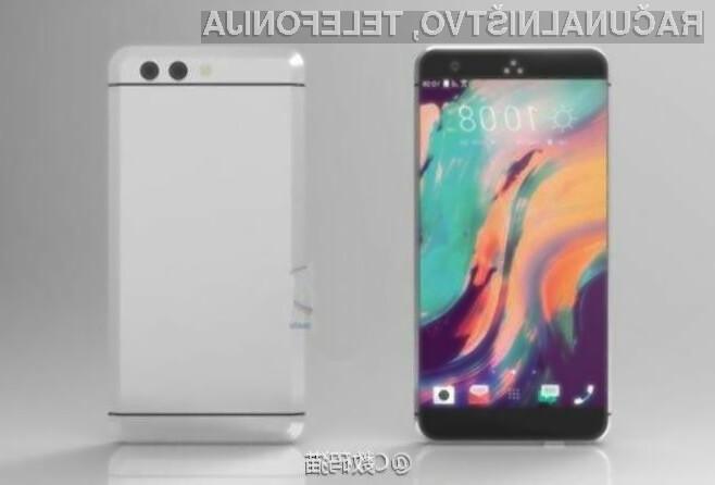 Pametni mobilni telefon HTC 11 bo na račun večjega sistemskega pomnilnika kos tudi najtežjim opravilom.