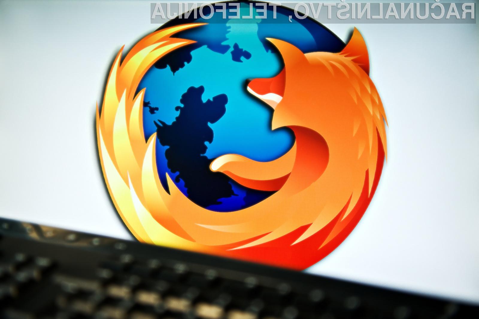 Spletnemu brskalniku Mozilla Firefox trenutno primanjkuje predvsem večprocesorsko delovanje!