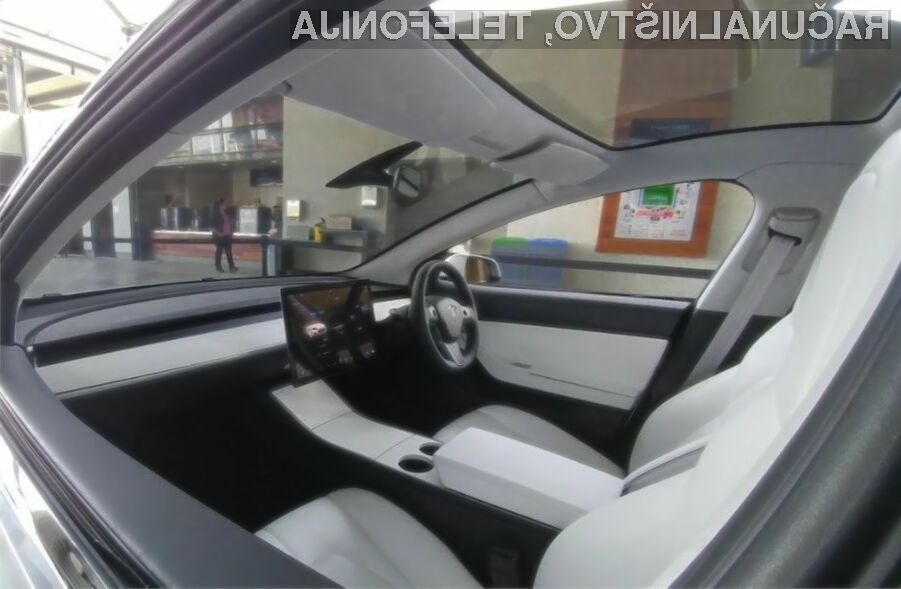 Novi Tesla Model 3 bo izgledal naravnost fantastično!