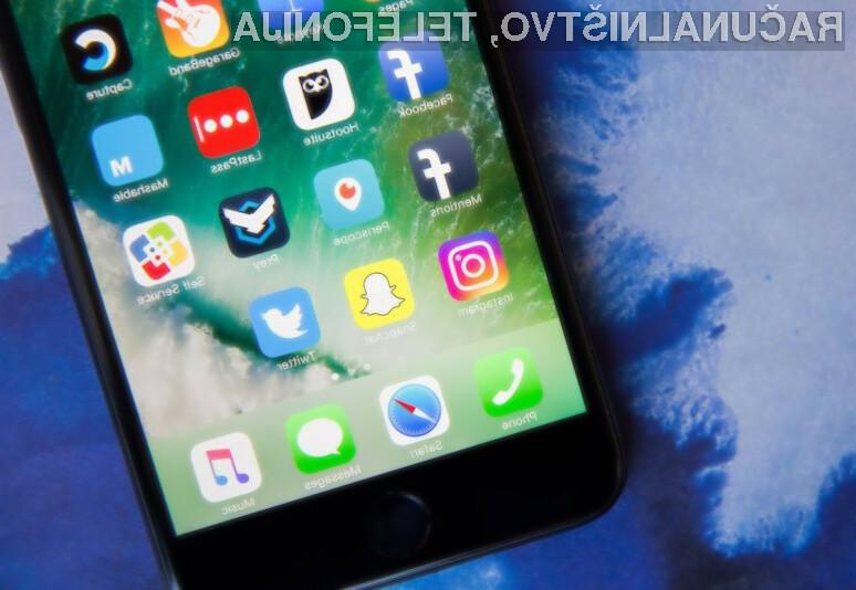 Zdaleč najbolj priljubljena mobilna aplikacija za iOS je Snapchat!