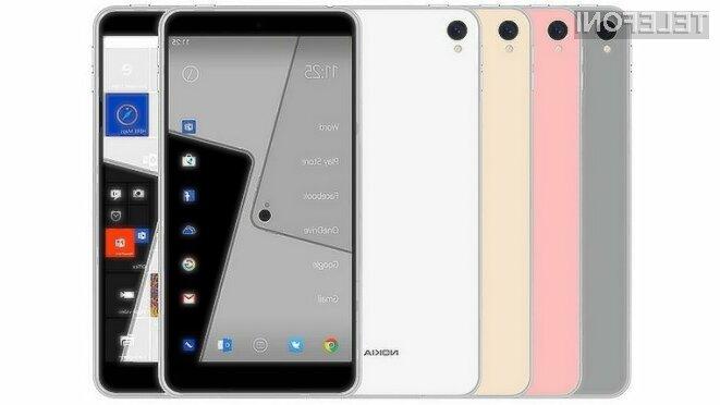 Pametni mobilni telefon Nokia D1C ne bo pretirano drag.