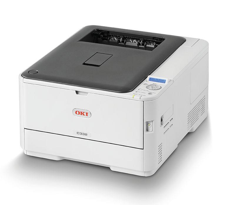 Barvni laserski tiskalnik OKI C332dn – IZKLICNA CENA 1 €!