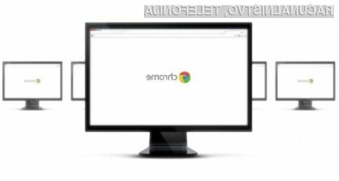 Novi Google Chrome je varnostno naravnan!