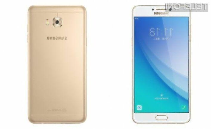 Pametni mobilni telefon Samsung Galaxy C7 Pro za relativno malo denarja ponuja veliko!