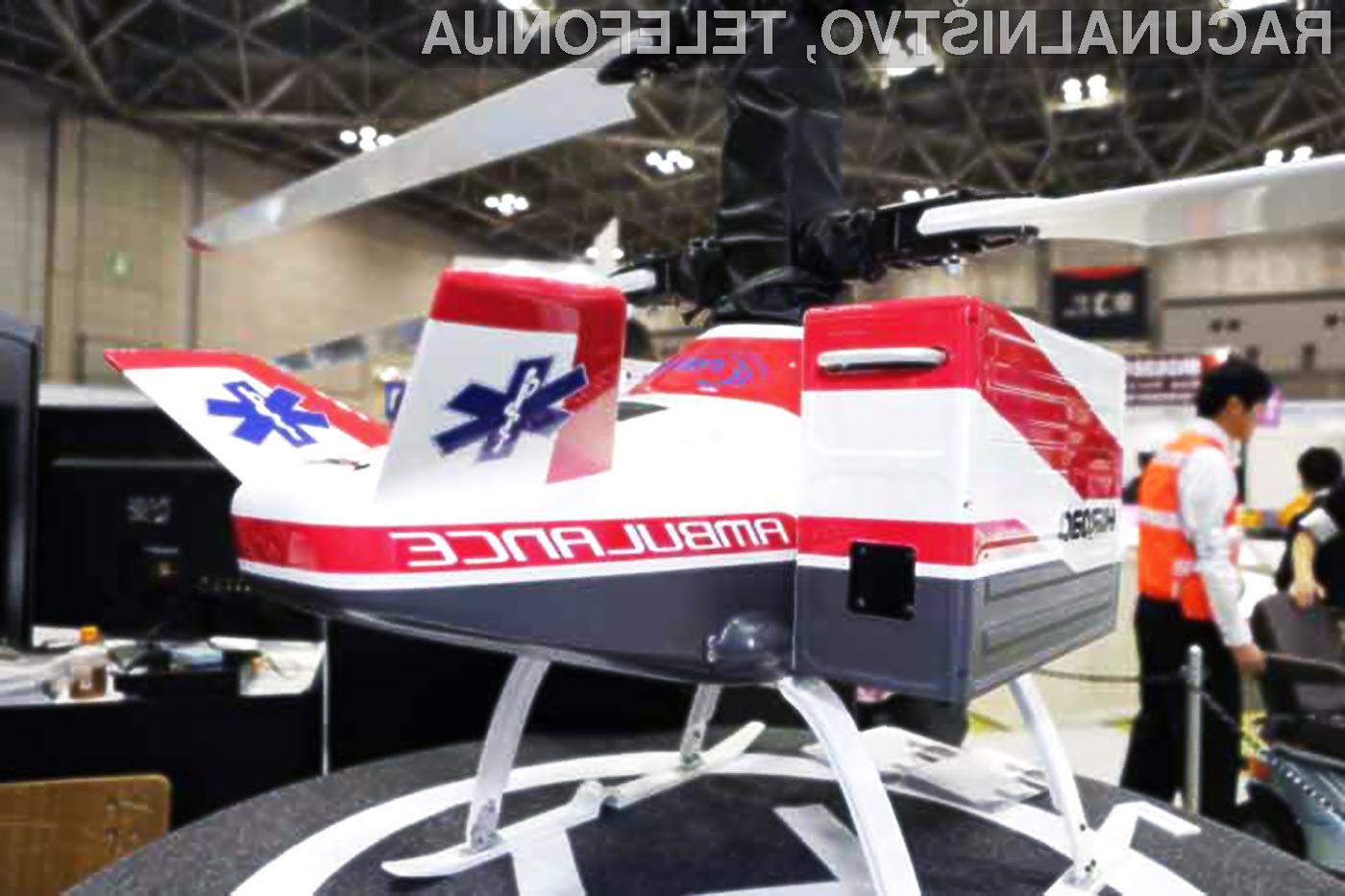 3. Droni za dostavo zdravil