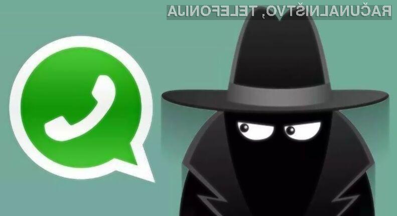 Če uporabljate mobilno aplikacijo WhatsApp poskrbite, da imate vključena varnostna obvestila!