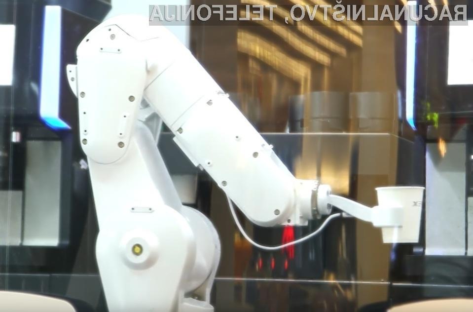 Stranke kavarne Cafe X v San Franciscu so nad postrežbo robota več kot navdušene!