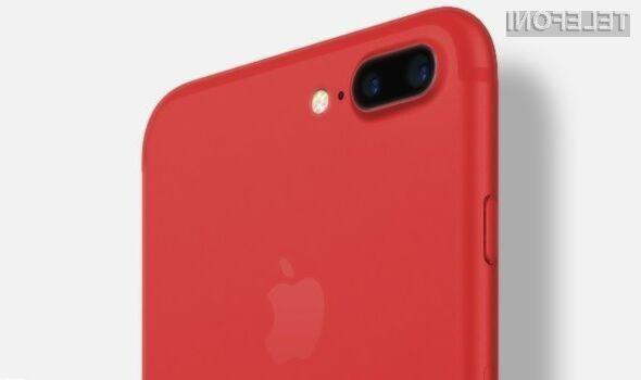 Rdeči iPhone bo uporabnikom ponudil več prostora za shranjevanje podatkov!