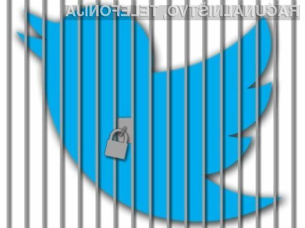 Za blažje kršitve bo uporabnikom Twitterja uporabniški račun ukinjen za 12 ur.