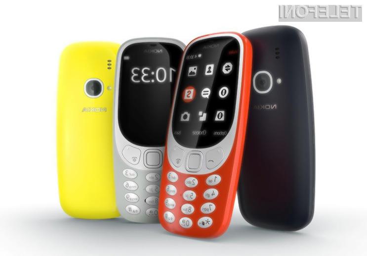 Mobilni telefon Nokia 3310 (2017) bo deloval le, če bo na voljo omrežje 2G!