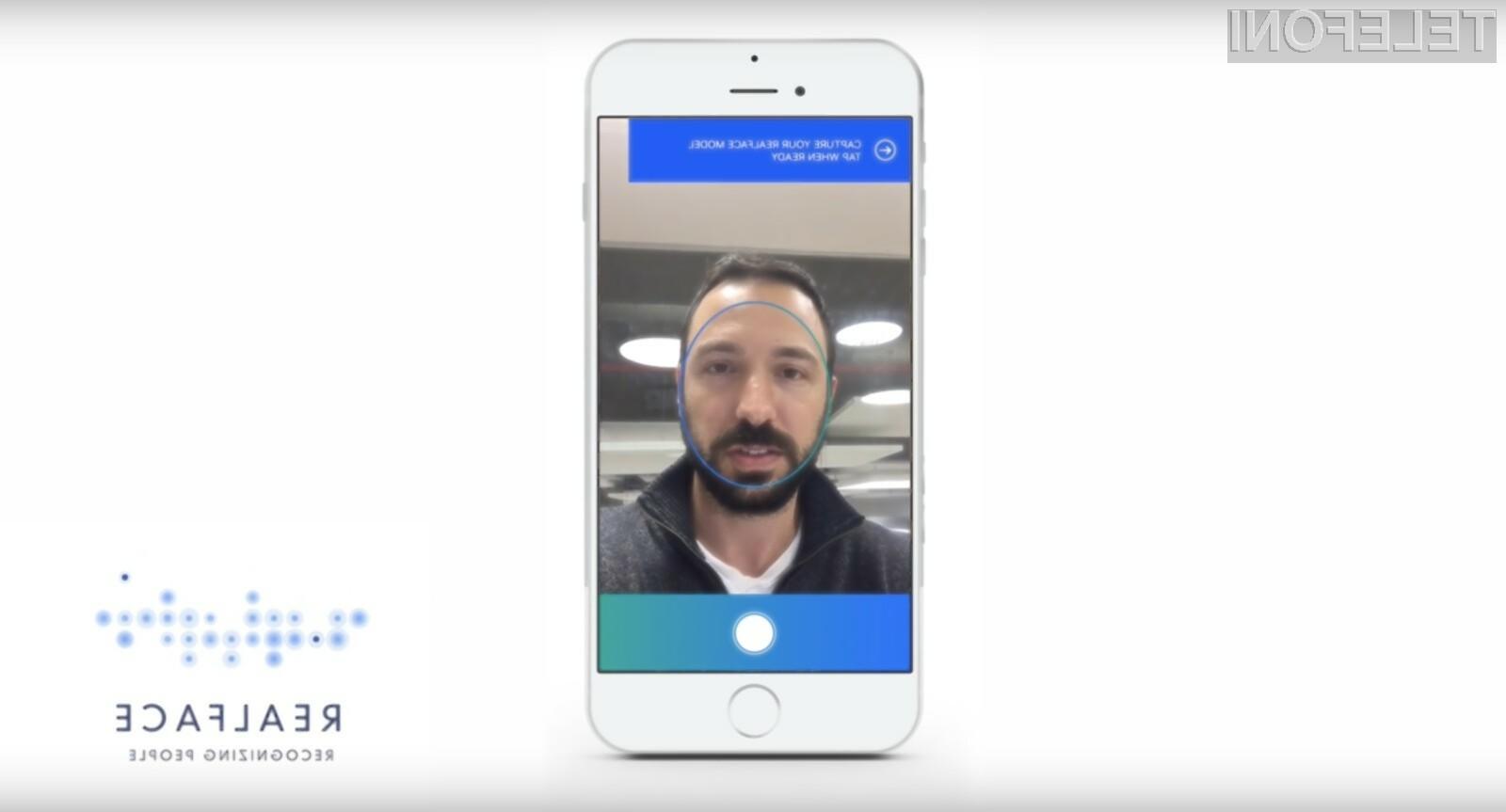 Za prijavo v novi iPhone 8 bo potrebnih le nekaj desetink sekunde!