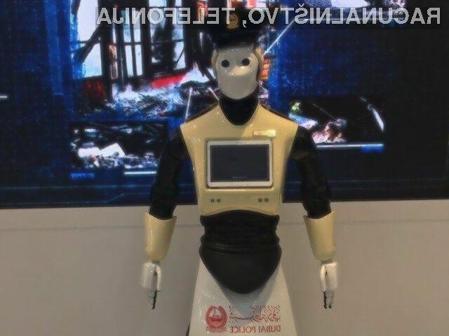 Kot vse kaže bodo roboti kmalu lahko nadomestili tudi policiste!