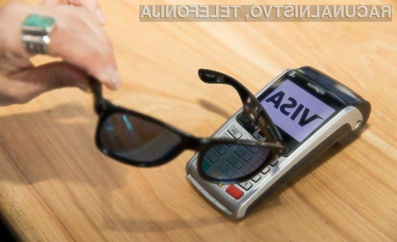 V prihodnje bi lahko plačevali kar z našimi sončnimi očali!