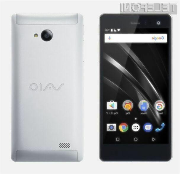 Pametni mobilni telefon VAIO Phone A naj bi predstavljal neposredno konkurenco telefonom podjetja Sony!