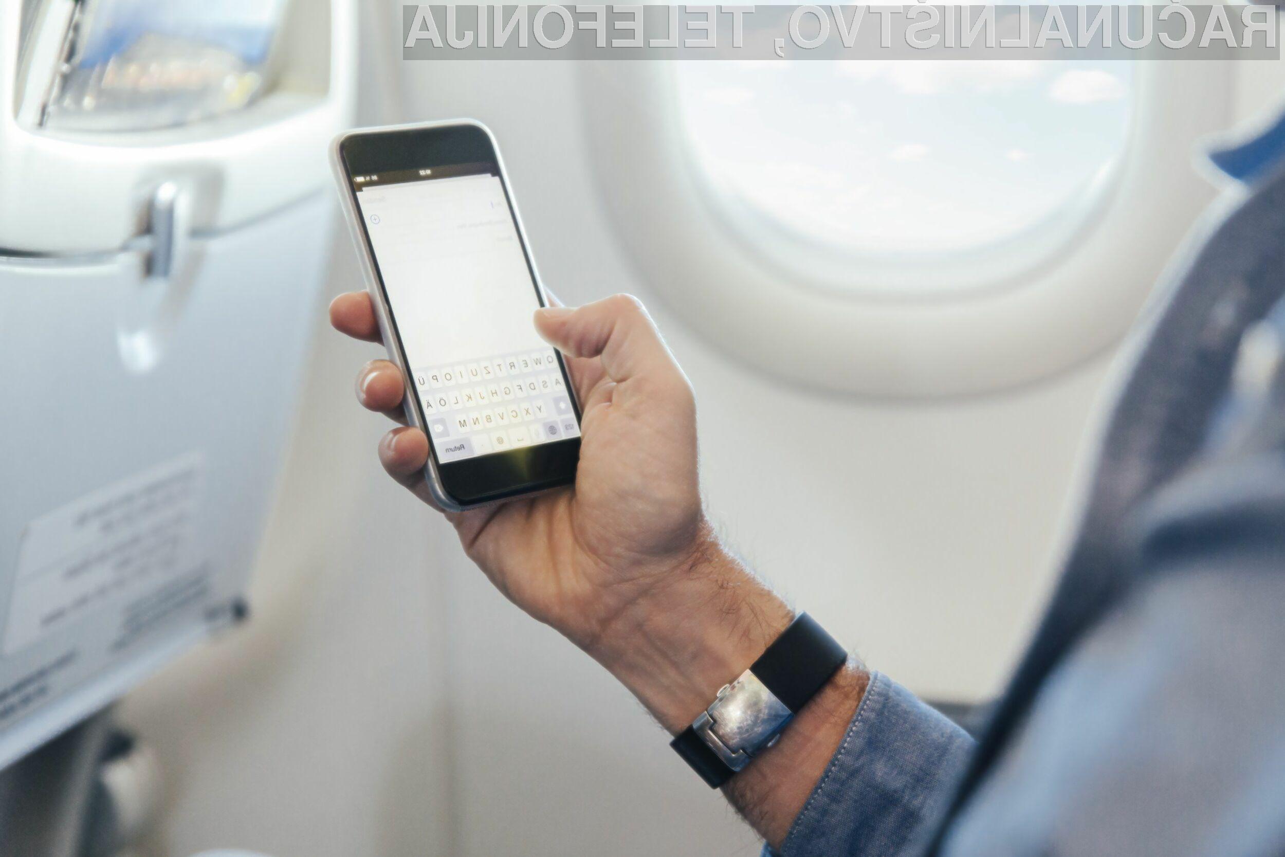 Omejitev vnosa večjih elektronskih naprav bo prizadela predvsem poslovneže, ki na dolgih letih delajo na prenosnikih.