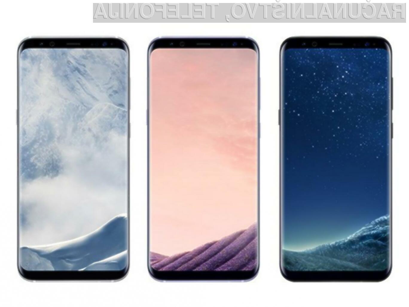 Za vstopno različico pametnega mobilnega telefona Samsung Galaxy S8 naj bi bilo treba odšteti le okoli 800 evrov.