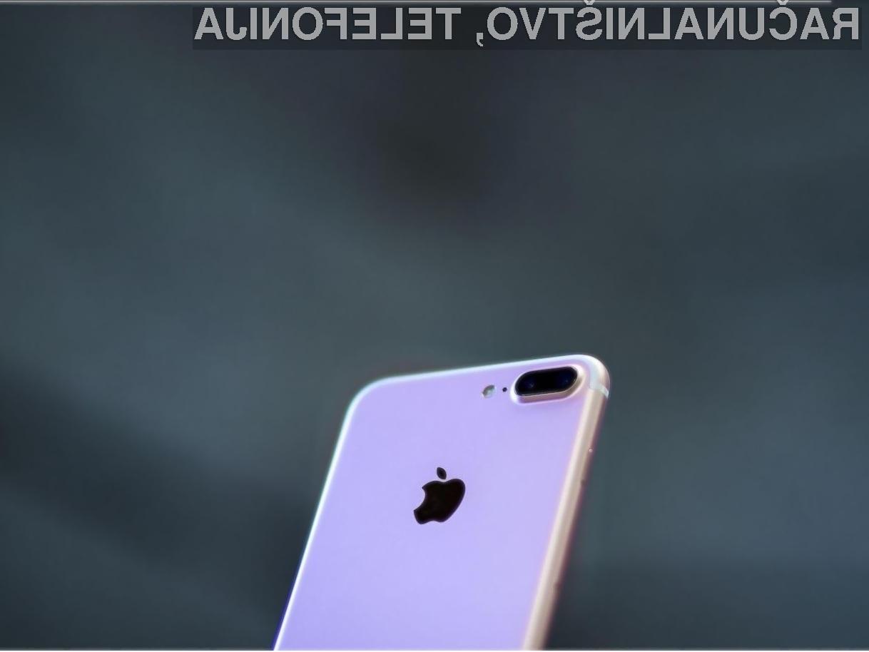 Pametni mobilni telefoni iPhone 7 so vsaj zaenkrat še varni za uporabo.