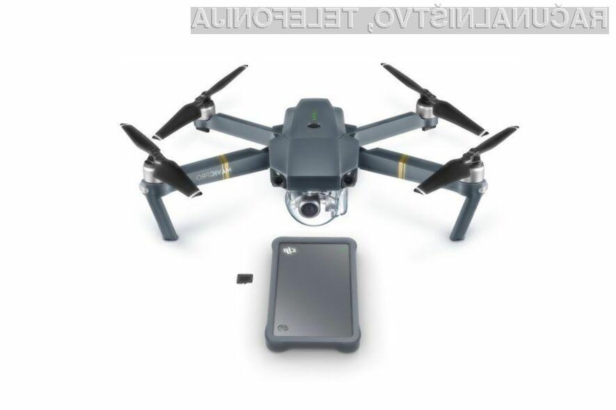 Zunanji trdi disk Seagate DJI Fly Drive za drone ponuja kar 2TB prostora!