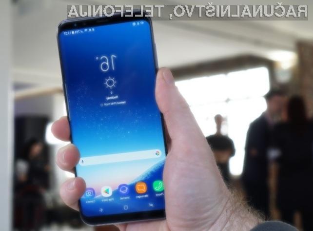 Številno prednaročil za Galaxy S8 in Galaxy S8+ je za kar 30 odstotkov višje od prednaročil modela Galaxy S7.