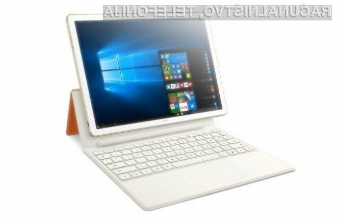 Hibridni prenosnik Huawei MateBook je primeren tako za delo kot zabavo.