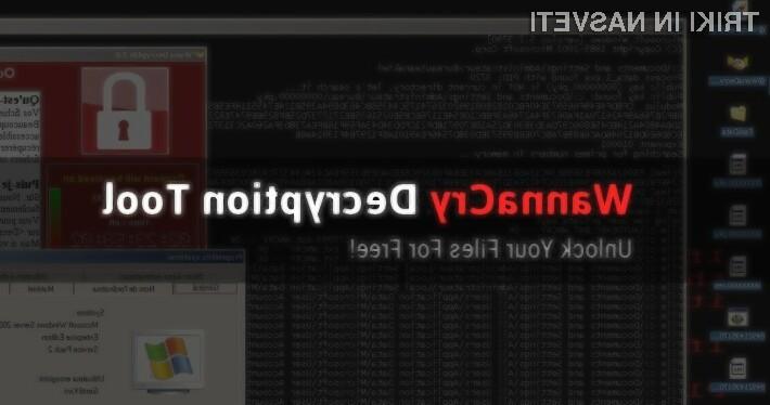 Programski orodij WannaKey in WanaKiwi nam bodo zagotovo v veliko pomoč pri dešifriranju naših podatkov!