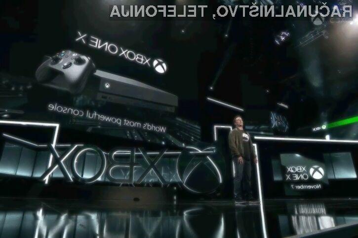 Igralna konzola Xbox One X bo zagotovo prepričala mnoge igričarje!