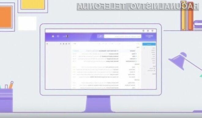 Prenovljeni grafični vmesnik odjemalca elektronske pošte Yahoo Mail navdušuje v vseh pogledih!