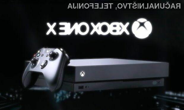 Igre za igralno konzolo Xbox One X bodo zagotovo prepričale mnoge igričarje!