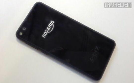 Novi pametni mobilni telefon Amazon naj bi bil precej boljši od njegovega predhodnika.