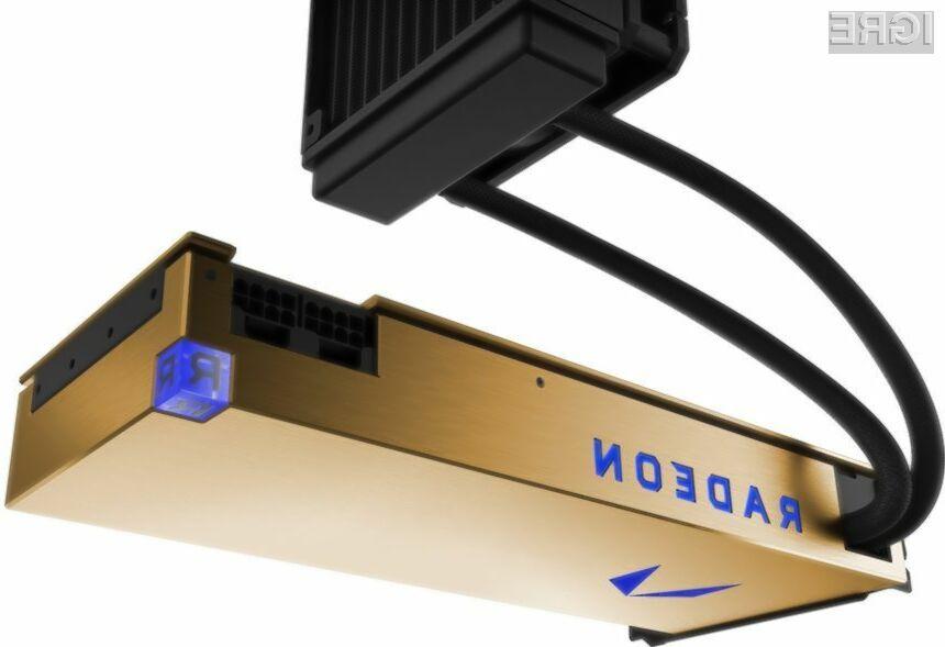 Grafična kartica AMD Radeon Pro Vega Frontier Edition bo kos tudi najzahtevnejšim nalogam!