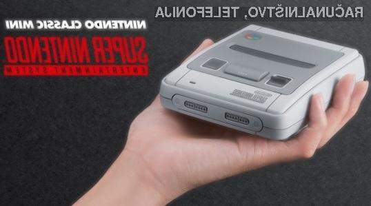 Klasična igralna konzola Nintendo SNES Classic bo zagotovo navdušila mnoge!