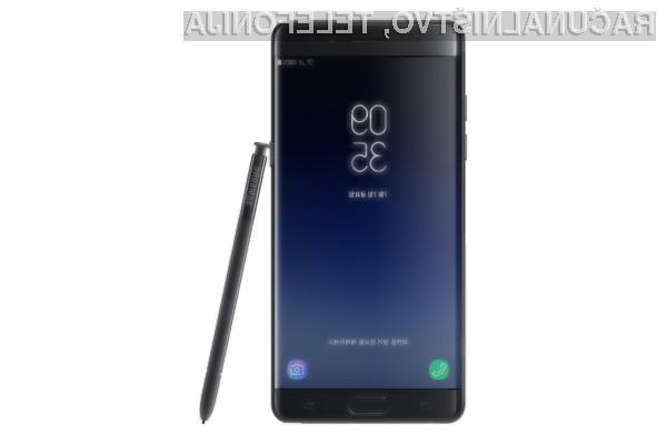 Pametni mobilni telefon Samsung Galaxy Note 7 se je vrnil v velikem slogu!