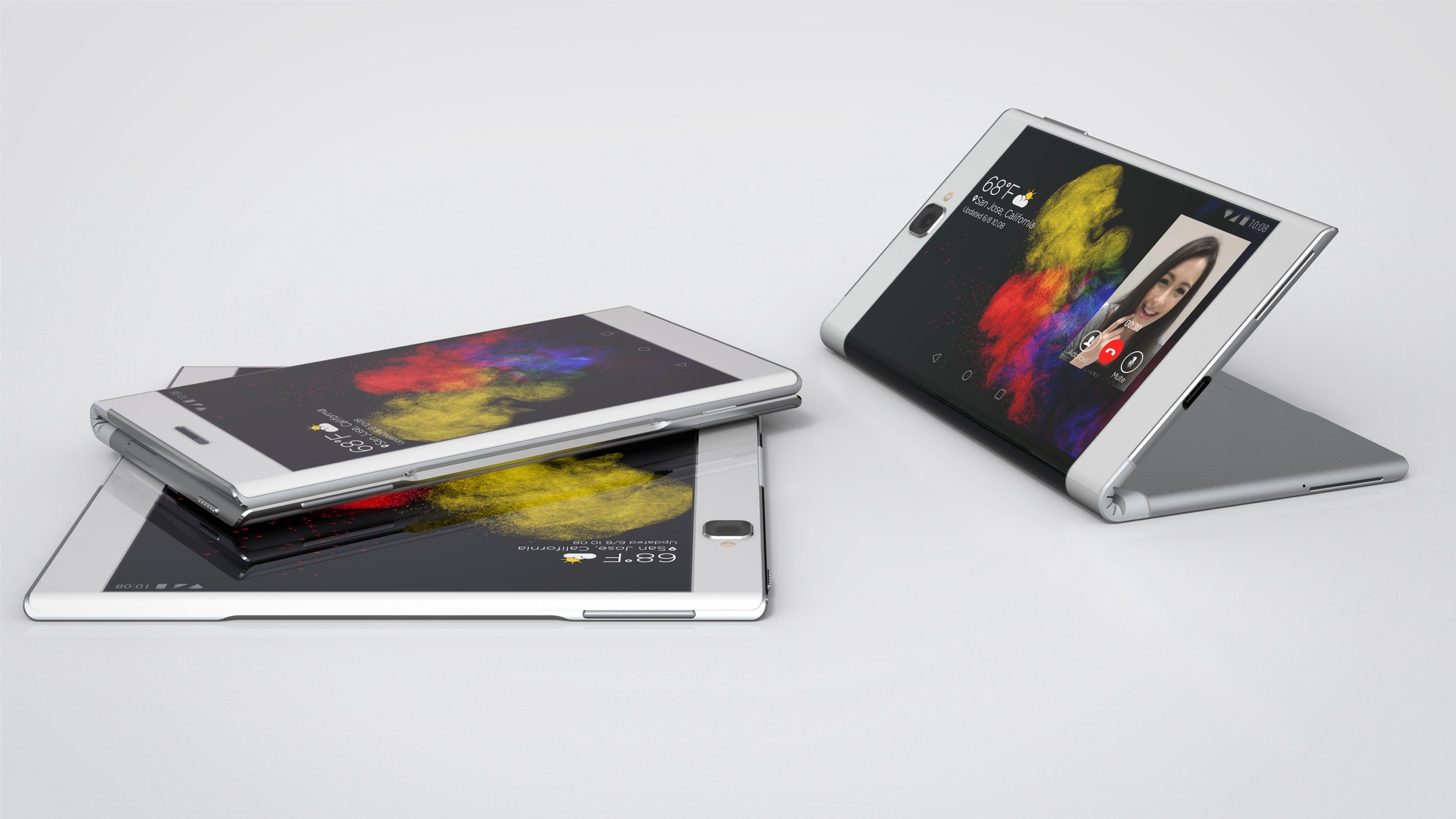 Tablične računalniki bomo kmalu lahko zložili v pametne mobilne telefone.