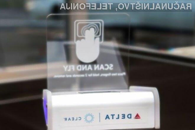 Za vkrcanje na letala družbe Delta Air Lines zadošča le prstni odtis!