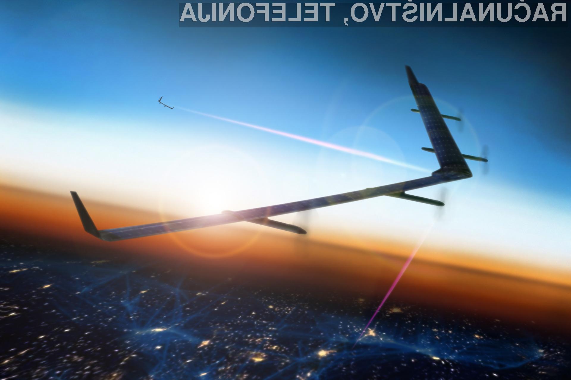 Avtonomna letala podjetja Facebook bodo svetovni splet »dostavljala« tudi v najbolj oddaljene kotičke sveta!