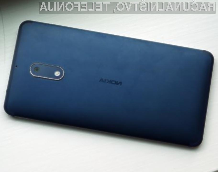 Konec junija naj bi bilo pametni mobilni telefon Nokia 8 mogoče naročiti tudi pri nas.