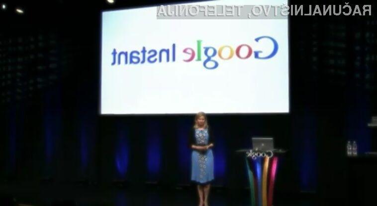 Google Instant se bo počasi povsem upokojil, saj na mobilnih napravah ni pretirano uporaben.