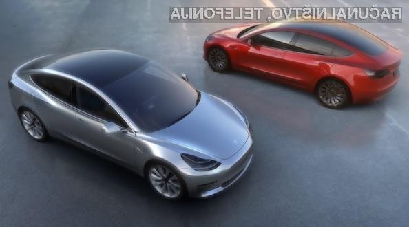 Do konca leta naj bi podjetje Tesla doseglo proizvodno zmogljivosti kar 20.000 avtomobilov Model 3 na mesec.