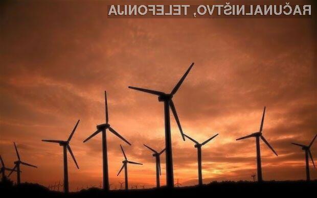 Vetrna energija naj bi imela zelo velik potencial za pridobivanje električne energije!