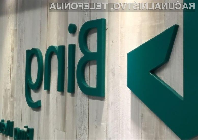 Na Microsoftov spletni iskalnik Bing prisega vse več uporabnikov svetovnega spleta!