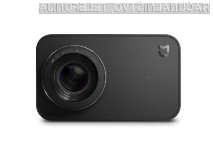Akcijska kamera Xiaomi Mijia 4K je kompaktna a zelo zmogljiva!