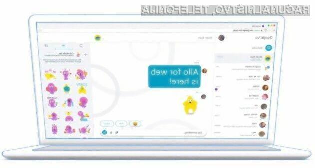 Storitev Google Allo je odslej na voljo tudi preko spletnega brskalnika Chrome.