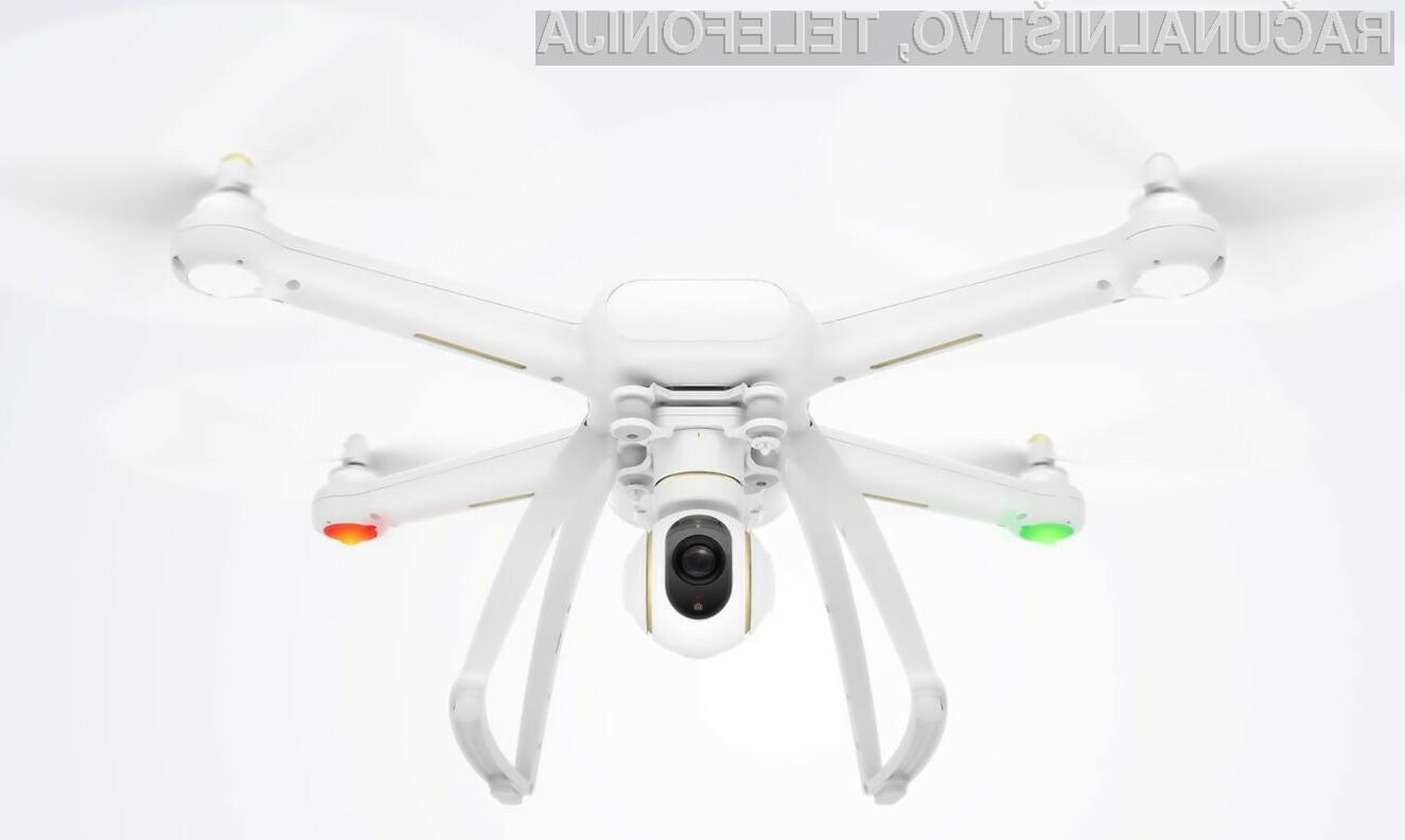 Prvi dron podjetja Xiaomi za relativno nizko ceno ponuja veliko naprednih možnosti.